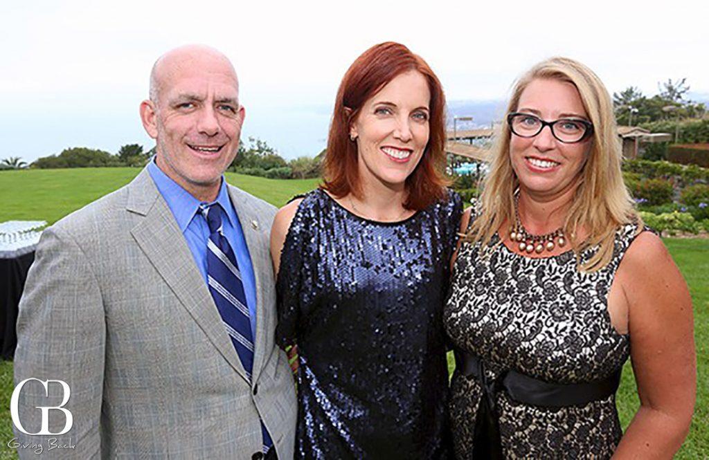 Jerry and Jennifer Widmer with Tana Lorah