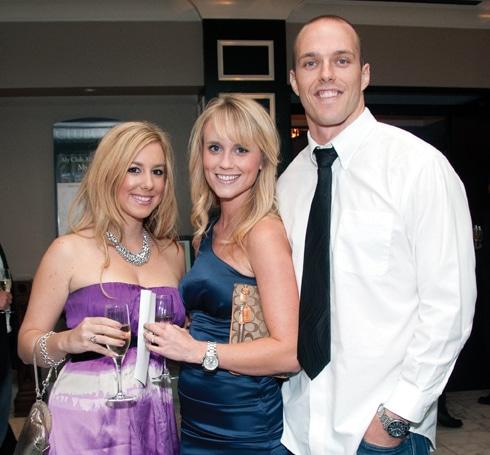 Jessica Thomas with Alex and Dave Heckman