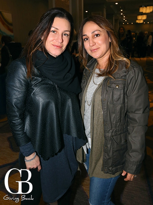 Jessica Abu and Rebeca Adato