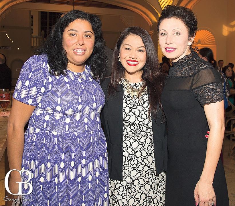Jessica Mier  Feliza Ortiz Licon and Lisette Islas