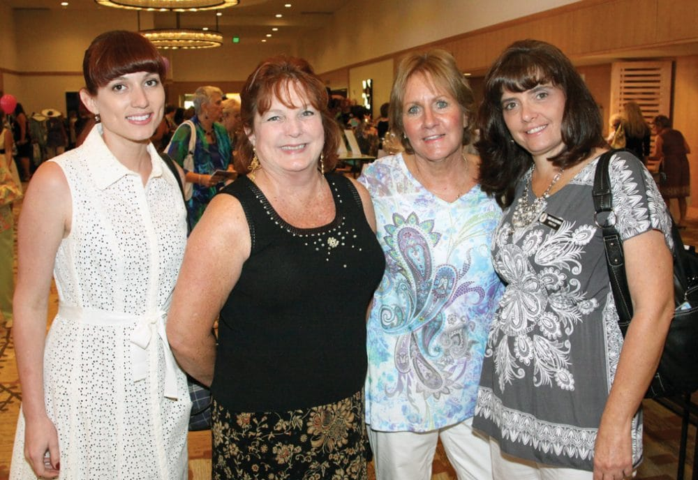 Jessie Hogue, Jane Moore, Patti Shryock and Carmela Southworth.JPG