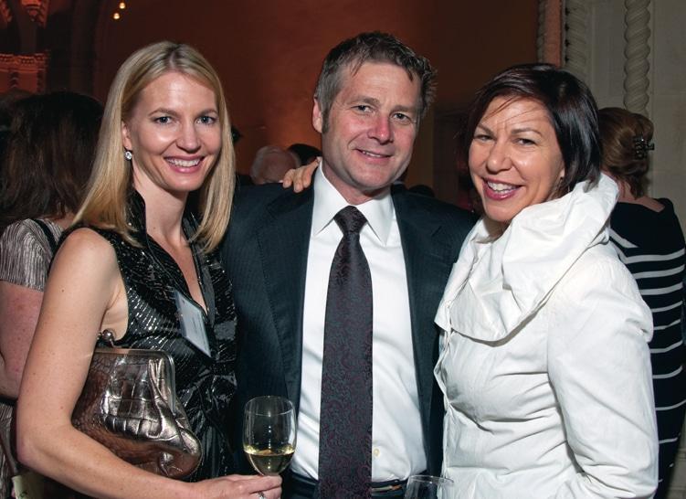 Jill Larson, Douglas Tribble and Katy McDonald