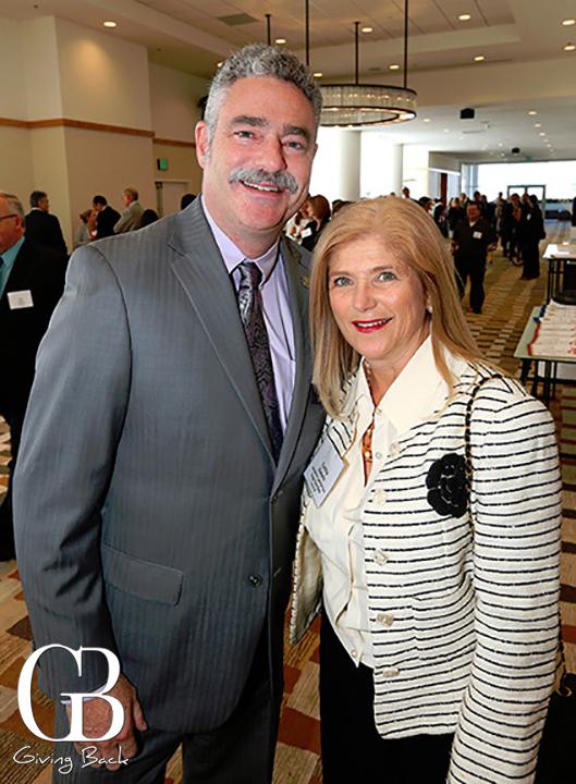 Jim Floros and Cynthia Vassallo