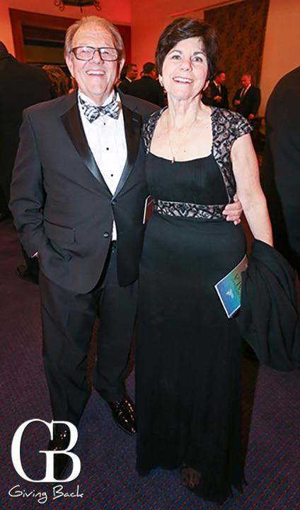Jim Ogilvie and Barbara Menard