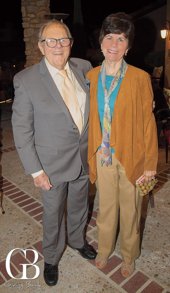 Jim Ogilvie and Barbara Menard