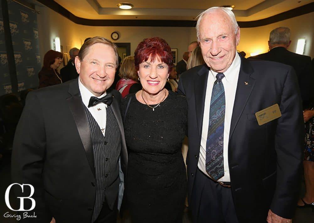 Jim and Andie Kidrick and Al Worden  Apollo