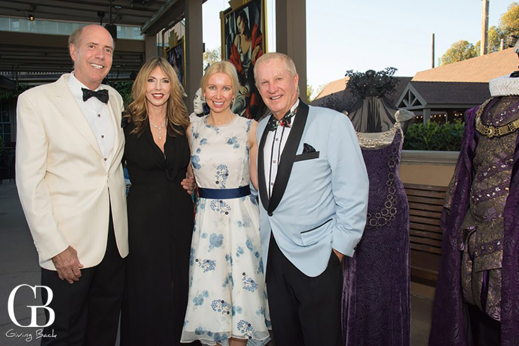 Jim and Daphne Jameson with Geniya and Doug Manchester