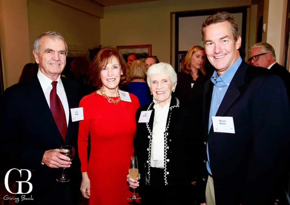 Jim and Elspeth Myer with Jill Walsh and Brad Black