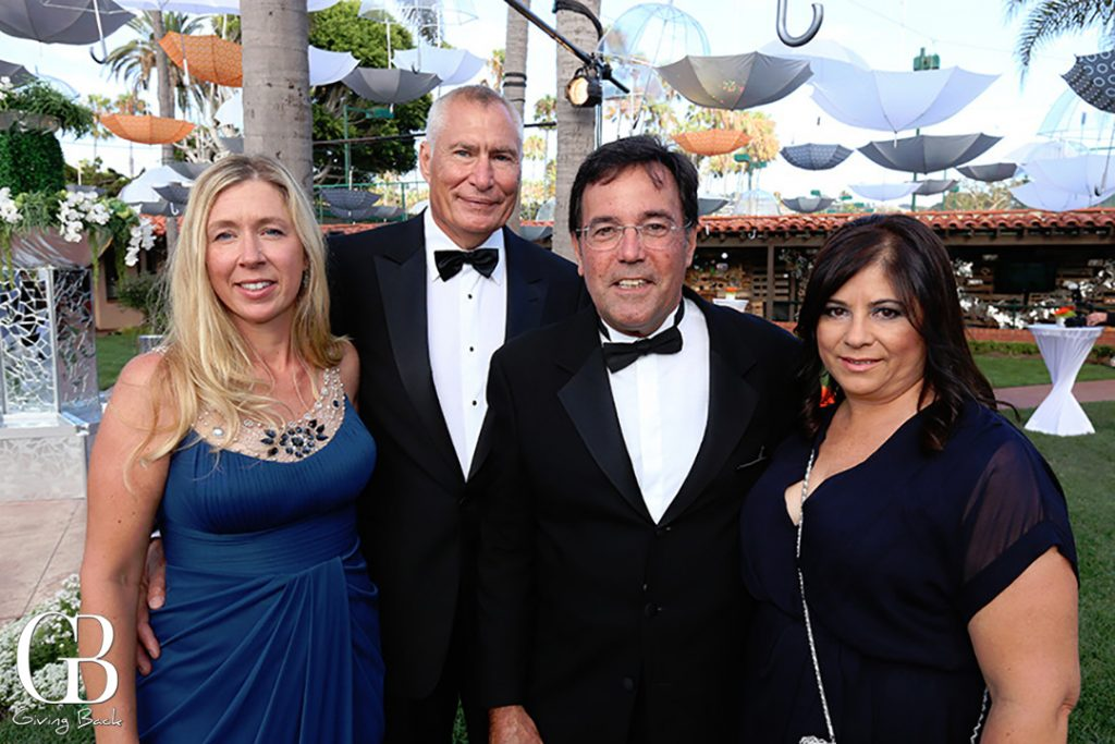 Jinny and Gary Pace with Bob and Claudia and Pecora