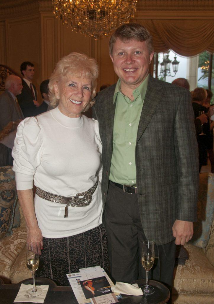 Joan Glatthorn and Victor Govhan