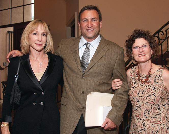 Joan Pancheri, Paul Grossfeld and Arlene Smith