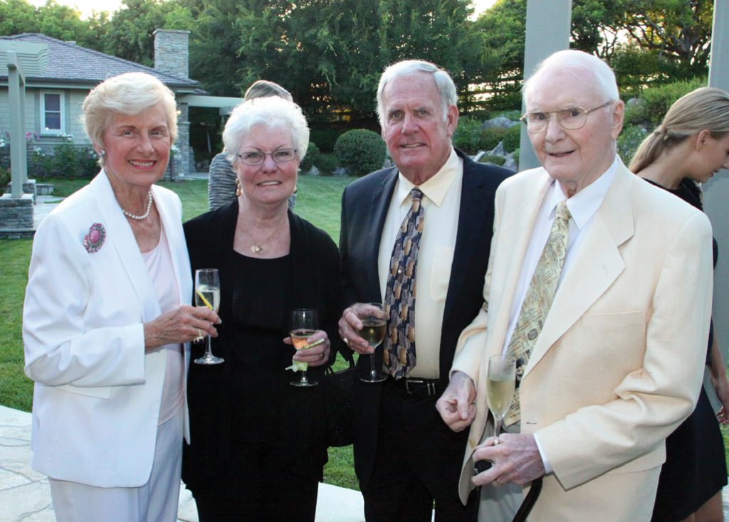 Joan Pollard, Rita and Jim David and Ben Pollard.JPG