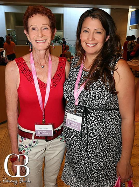 Joani Nelson and Amy Rommel