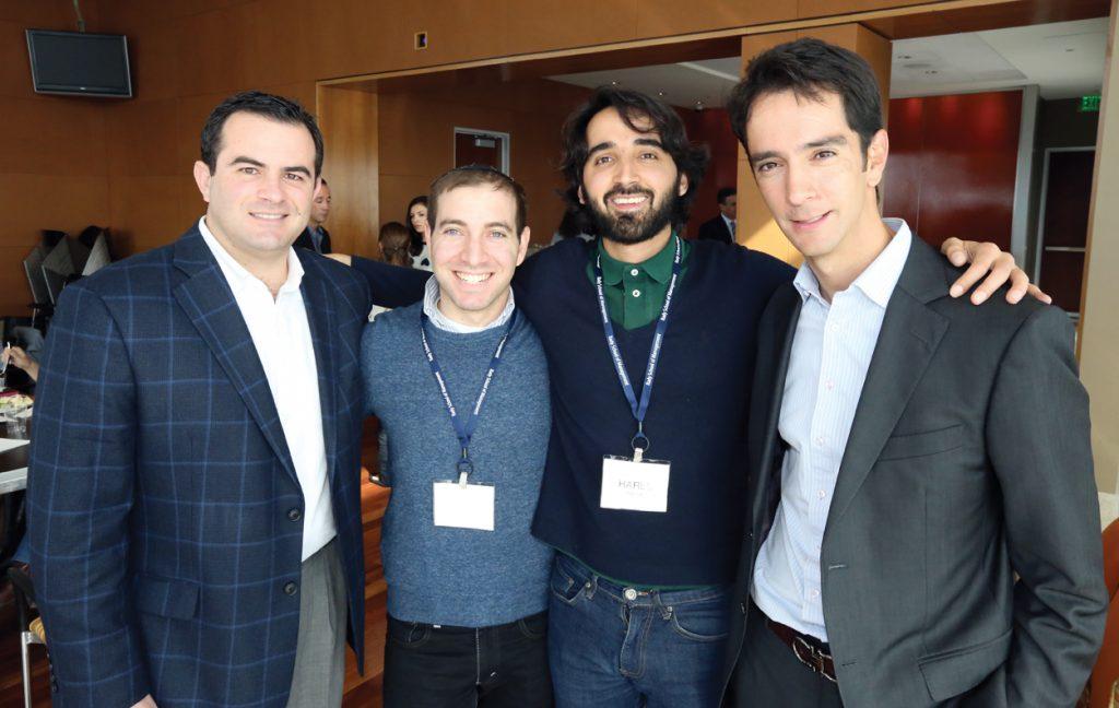 Joaquin Luken, Yisrael Gross, Harel Bobza y Andres Lujan.JPG