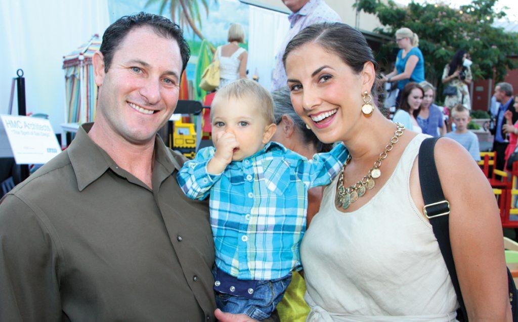 Joe and Amanda Lowe with Jaren.JPG