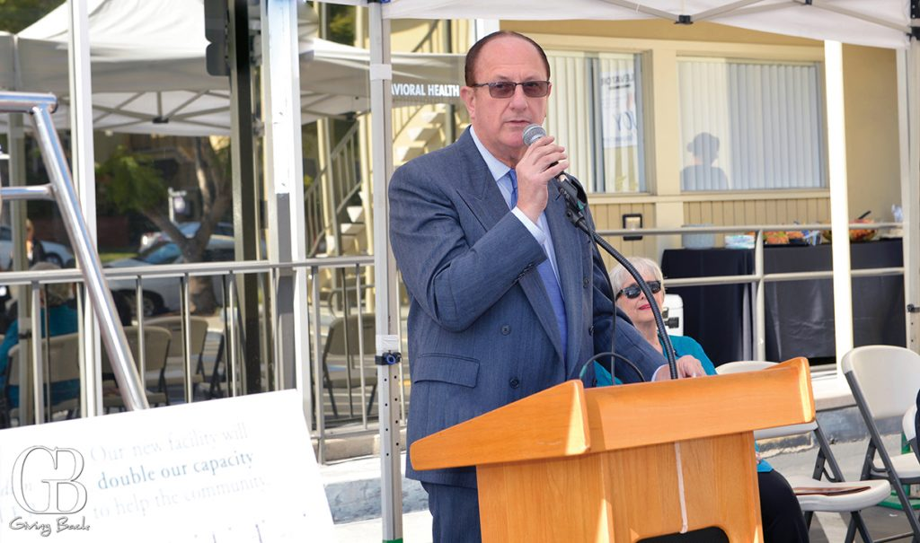 Joe Bulfer at the ribbon cutting of the new San Diego American Indian Health Center facility