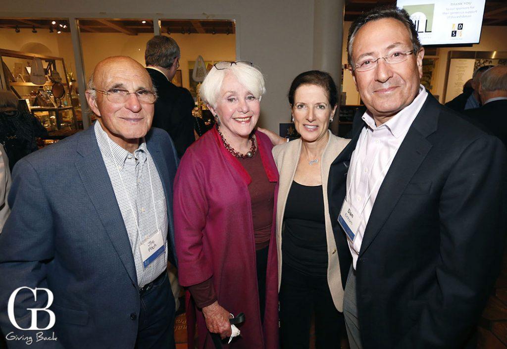 Joe Fisch  Joyce Axelrod  Emily and Dave Einhorn