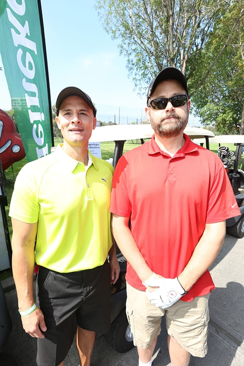 Joey Ybarrondo y Eric Henry