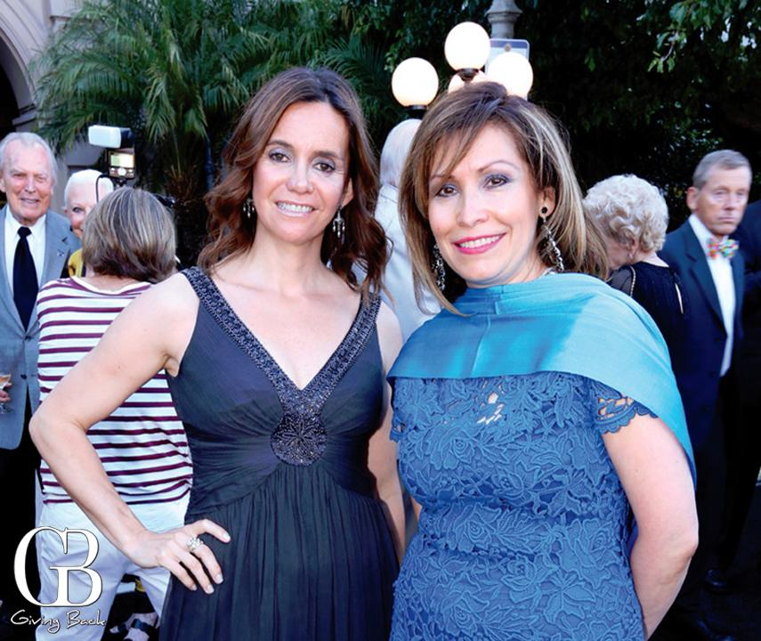 Johana Saretzki and Consul Remedios Gomez Arnau