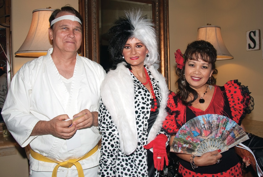 John Domby, Ruby Peret and Tess Domby