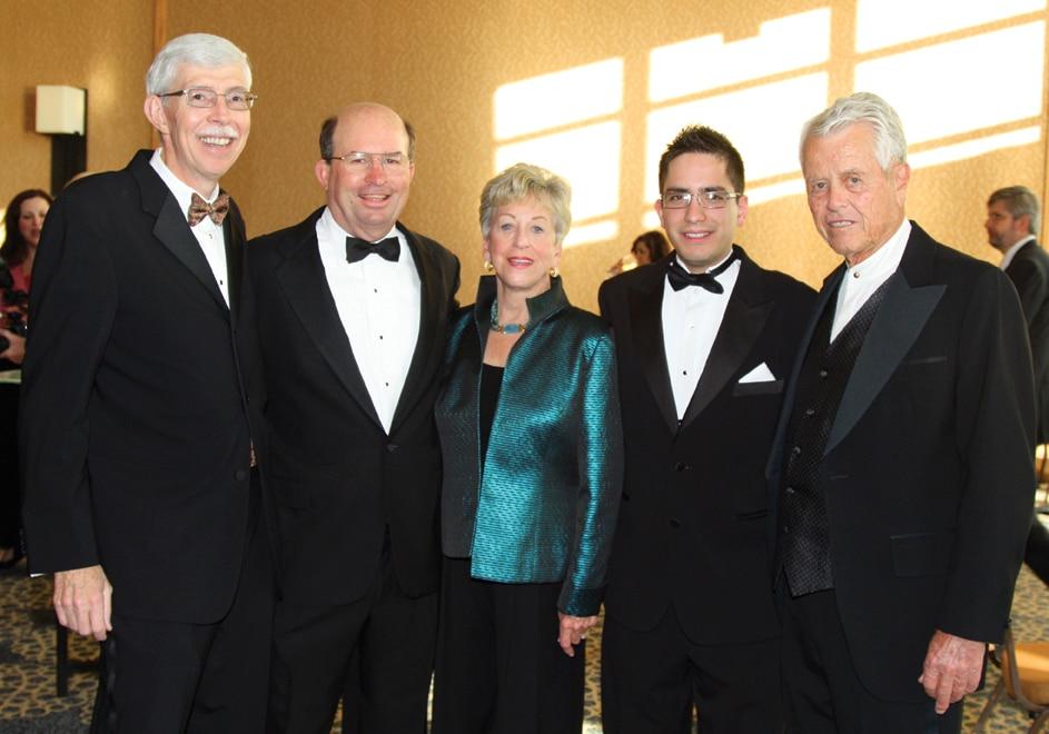 John Evey, Steve Williams, Roberta Burnham, Rodrigo Ortega and Malin Burnham.JPG
