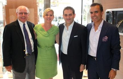 John and Kristin Bailey, Rafael Alvarez and Vahid Moradi +.JPG