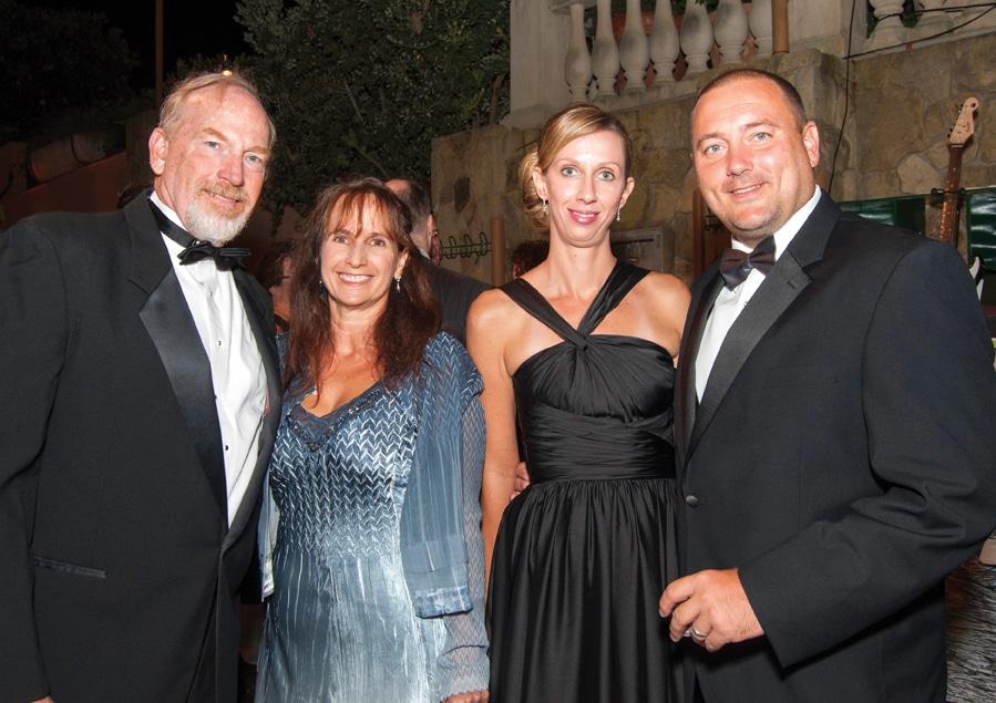 John and Lorri Hilbert with Kelli and Jason Satterly