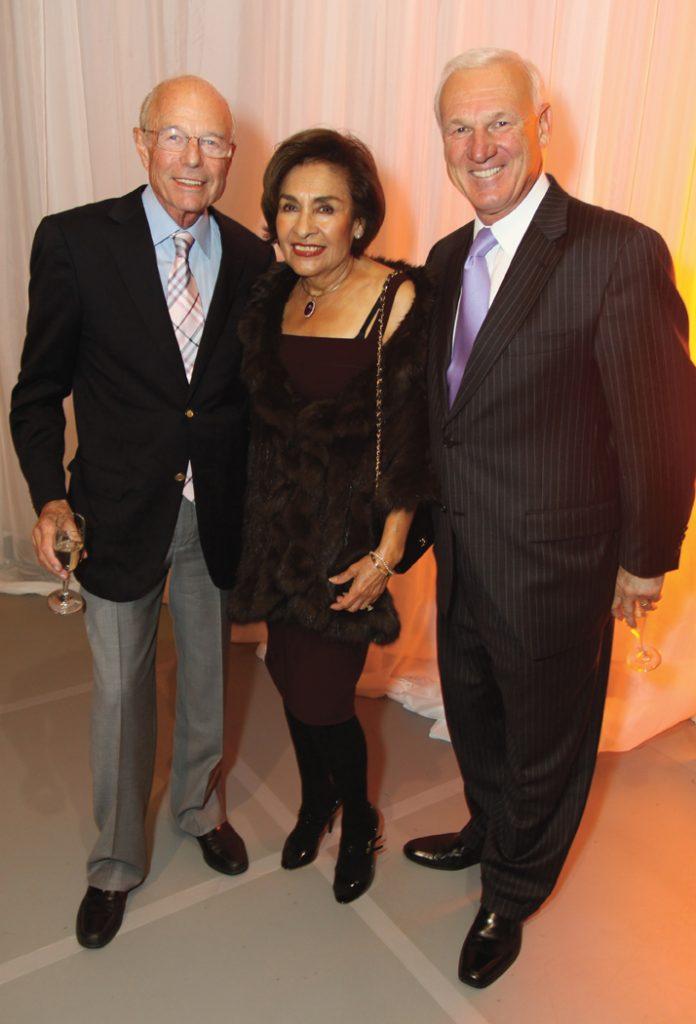 John and Ofelia Alksne with Ron Roberts.JPG