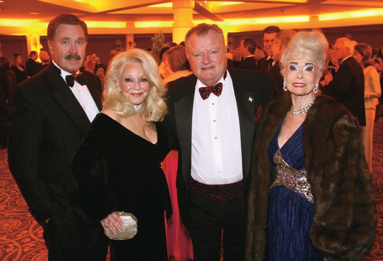 John and Phyllis Parrish with John and Sally B. thornton.JPG
