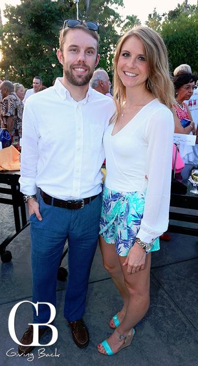 John Copp and Lauren Bennett