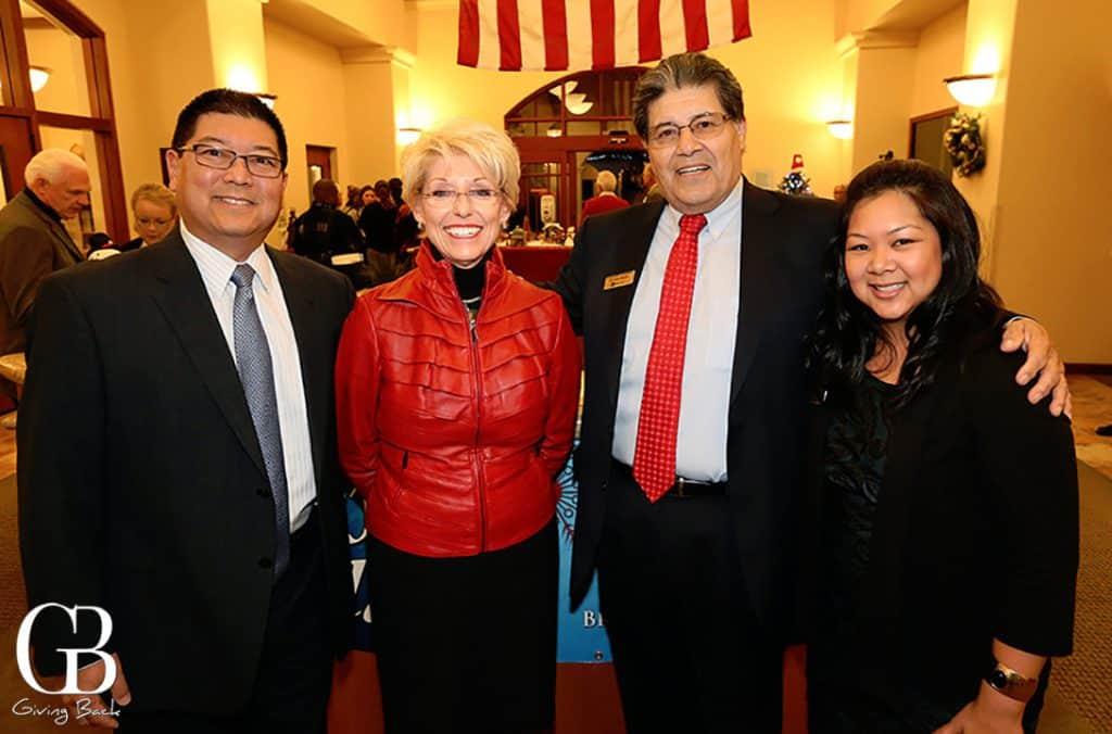 John Hayashida  Sally Jameson  Richard Ybarra and Darlene Miller