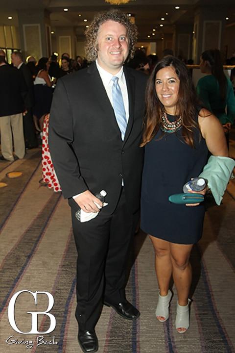 John Silva and Megan Rios