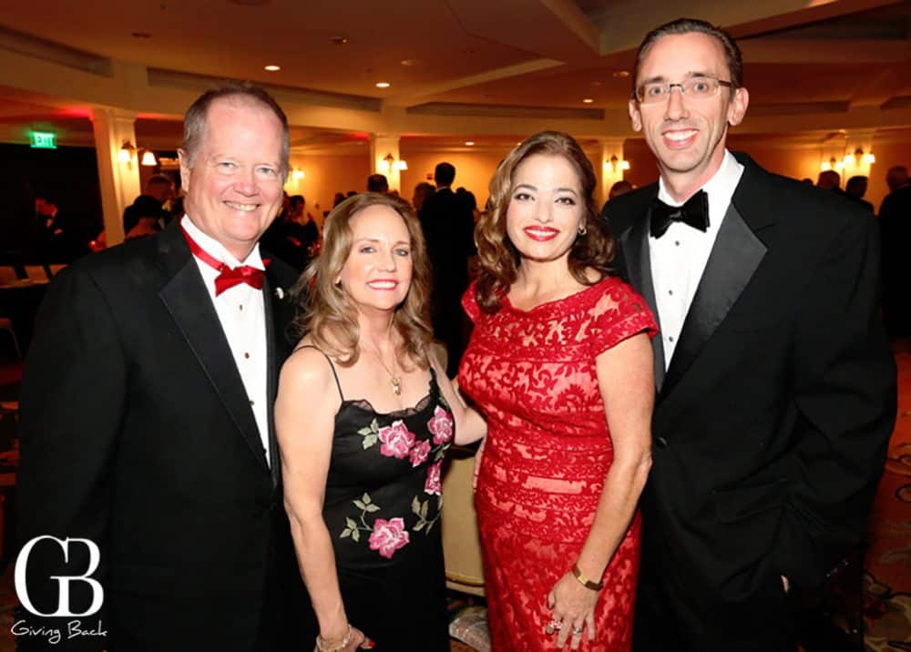 John and Dulie Ahlering with Julie and Michael Connolly