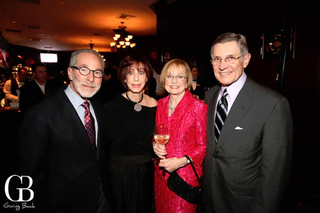 John and Janie Pollock with Phyllis and Dave Snyder