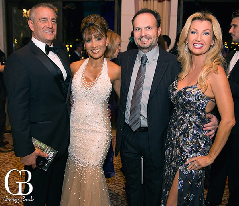 John and MJ Wittman with Brian and Valerie Robbins