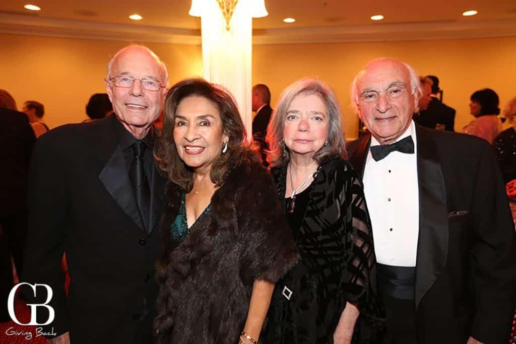 John and Ofelia Alksne with Andrea and Joseph Schmidt