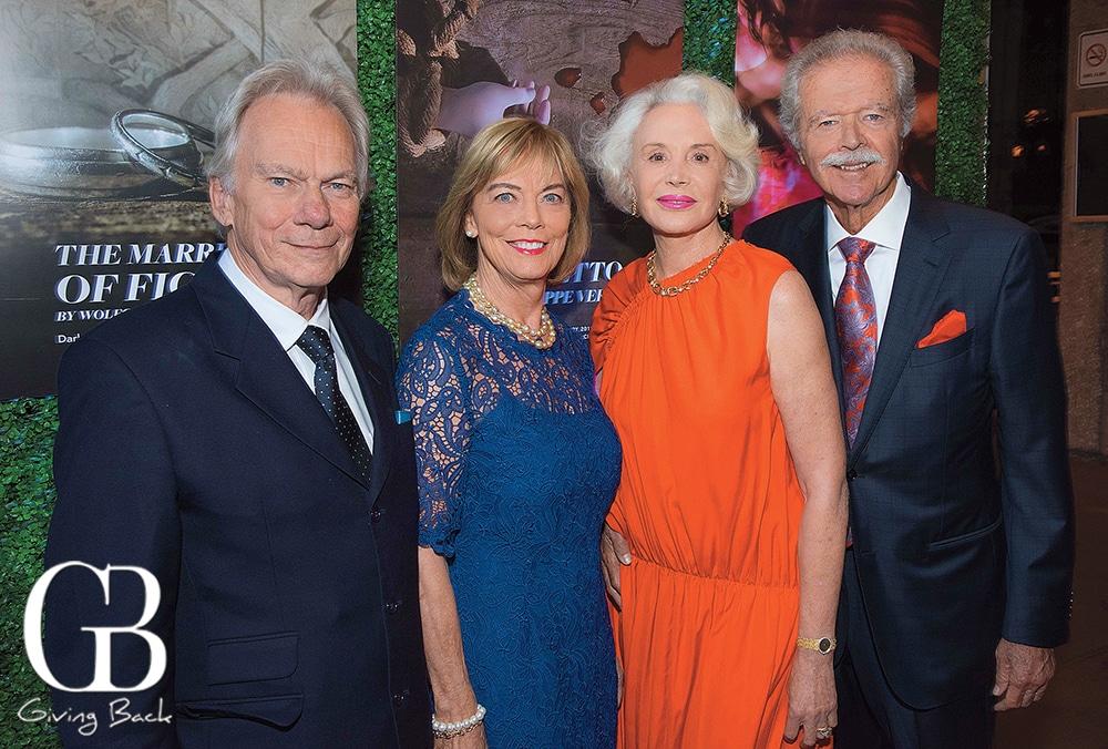 John and Rosemary Myatt with Sarah B. Marsh Rebello and John Rebello