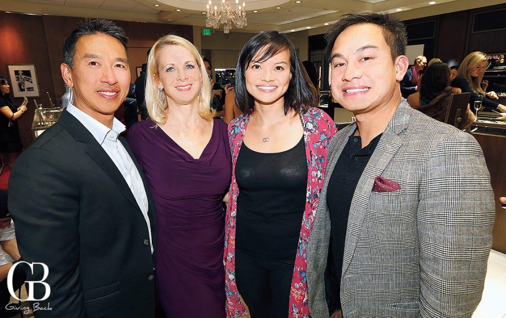 John and Theresa Pham with Judy and David Truong