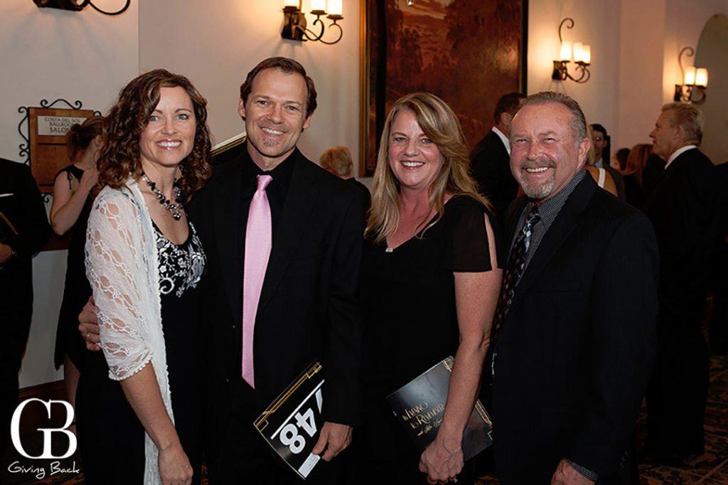 Joleen and Bret Schantenbach with Jana  and Randy Rezincek