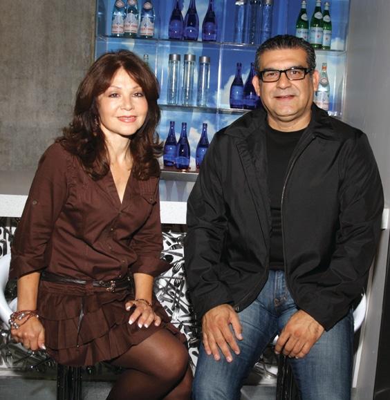 Joly Cruz y Ricardo Alvarez