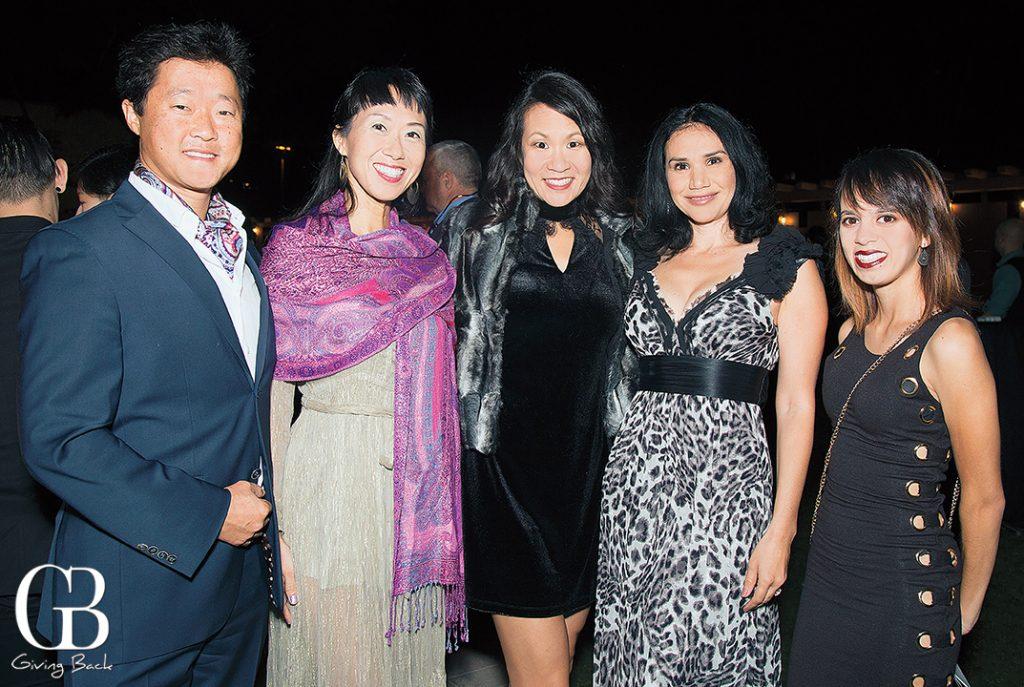 Jon Pak  Kuing Pak  Liza Suh  Mercedes Noonan and Mei Bueno