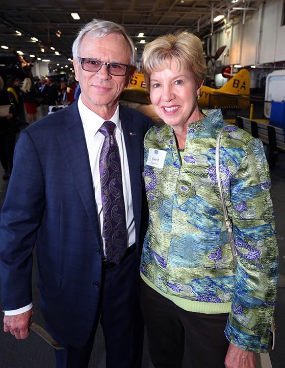 Jon Zygowicz and Judy Gaze