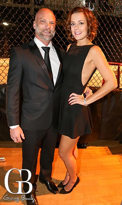 Jonah Dominek and Courtney Wine