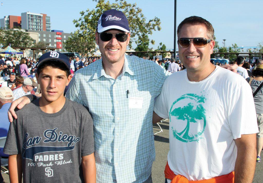 Jonathan with Oren Zaslansky and Brent Rivard.JPG