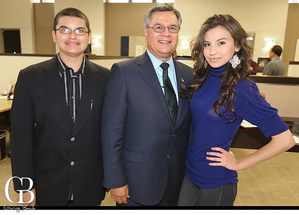 Jordan Azariah Baeza  Ruben Garcia and Ashley Baeza