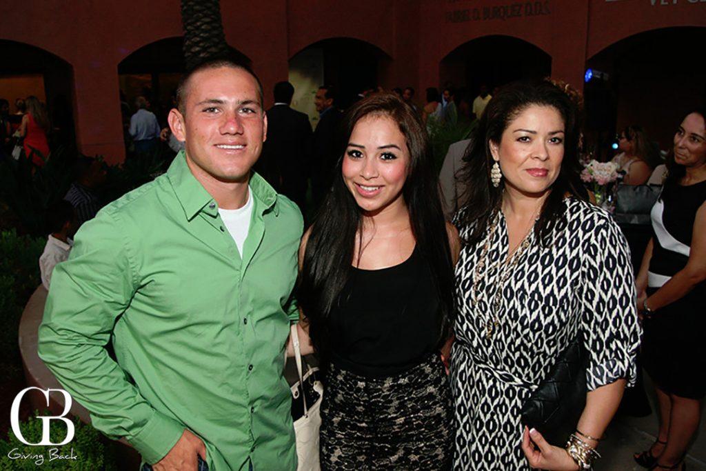 Jorge Cruz  Yeret Hernandez and Raquel Gould