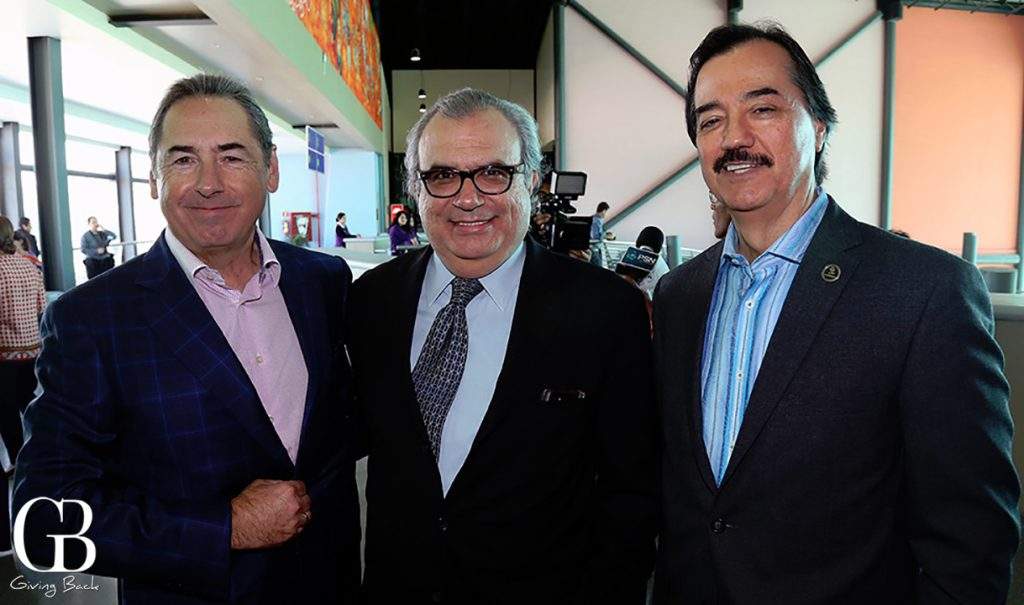 Jorge Kuri  Pedro Ochoa y Gustavo Camarena