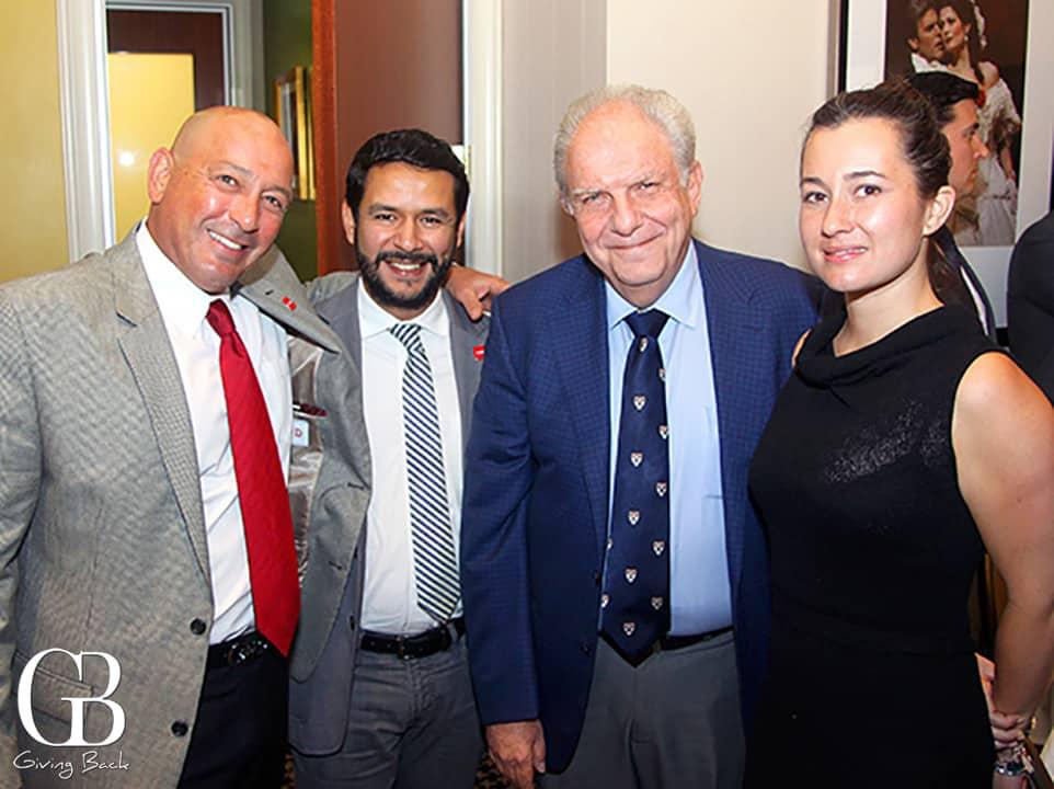 Jorge Zayas  Carlos Cristiani  Luis Maizel and Pamela Alexander