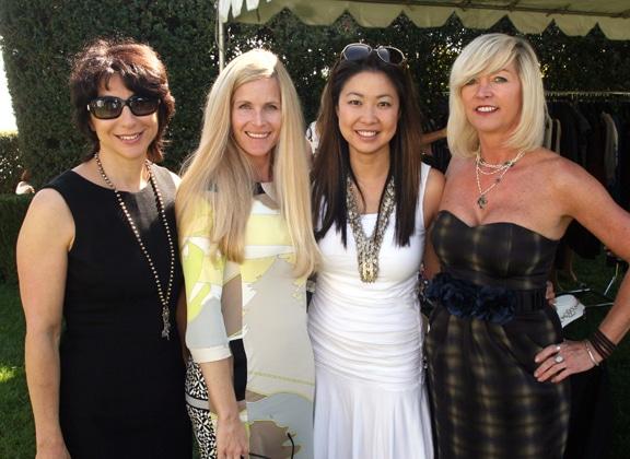 Jori Potiker, Julie Plashkes, Esther Wong and Lisa Parnell.JPG
