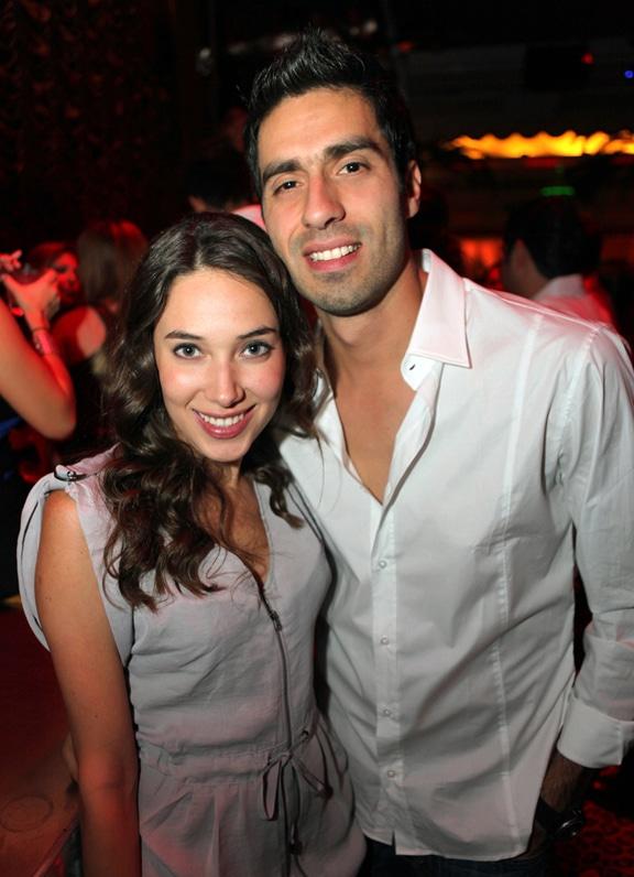 Jose Carlos Cota y Ana Fernanda Palma